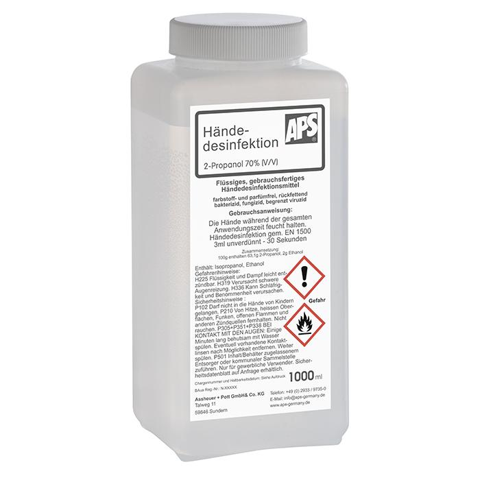 Desinfektionsmittel für Hände 1 l
