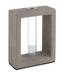 """Vase mit Glaseinsatz """"ELEMENT"""""""