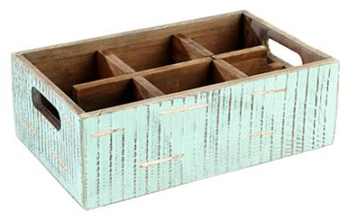 "Table Caddy ""VINTAGE"" 27 x 17 x 10 cm"