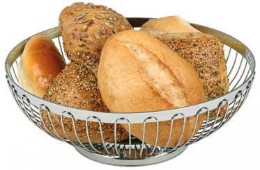Brot- und Obstkorb 18 x 18 x 7 cm