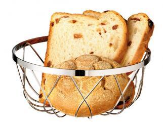 Brot- und Obstkorb 18 x 18 x 7,5 cm