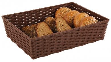 """Brot- und Obstkorb """"WICKER LOOK"""""""