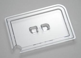 """Deckel """"SYSTEM-THEKE"""", mit Löffelaussparung"""" 22 x 14,5 x 2 cm"""